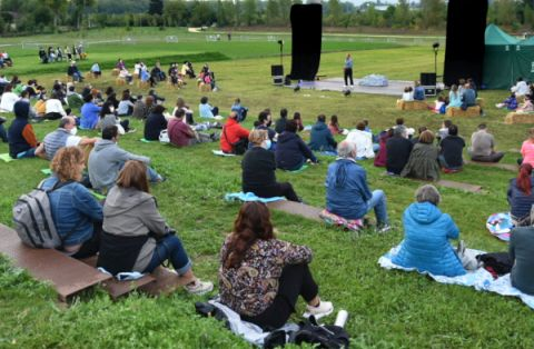 Nuevo teatro verde de Olarizu