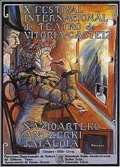Cartel de promoción del festival del año 1985