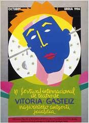 Cartel de promoción del festival del año 1986