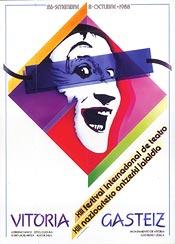 Cartel de promoción del festival del año 1988