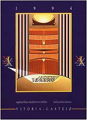 Cartel de promoción del festival del año 1994