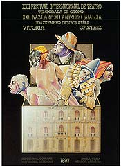 Cartel de promoción del festival del año 1997