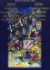 Cartel de promoción del festival del año 2001