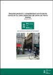 Densidad peatonal y compatibilidad con el tránsito ciclista en las calles peatonales del centro de Vitoria-Gasteiz