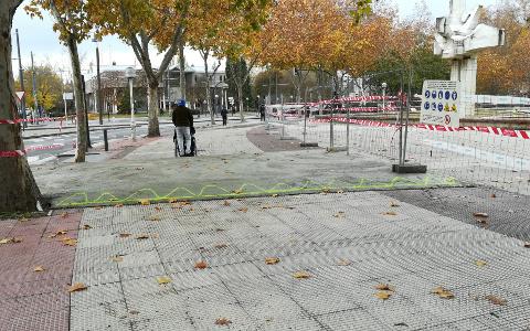 Obra Plaza de la Constitución